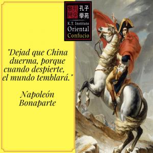 Napoleón habla de China
